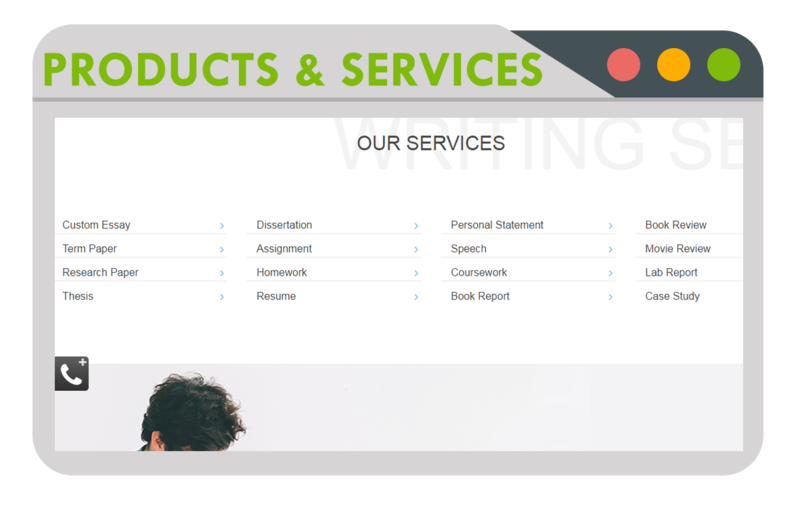 products and services essay Products and services paper products and services paper technology has drastically changed the retail industry today consumers are armed with tons of information that could be analyzed to help make buying decisions.
