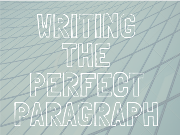 Content writingtheperfectparagraph